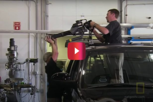 Tactical Vehicle Comes With a Retractable Minigun, and That's Not All