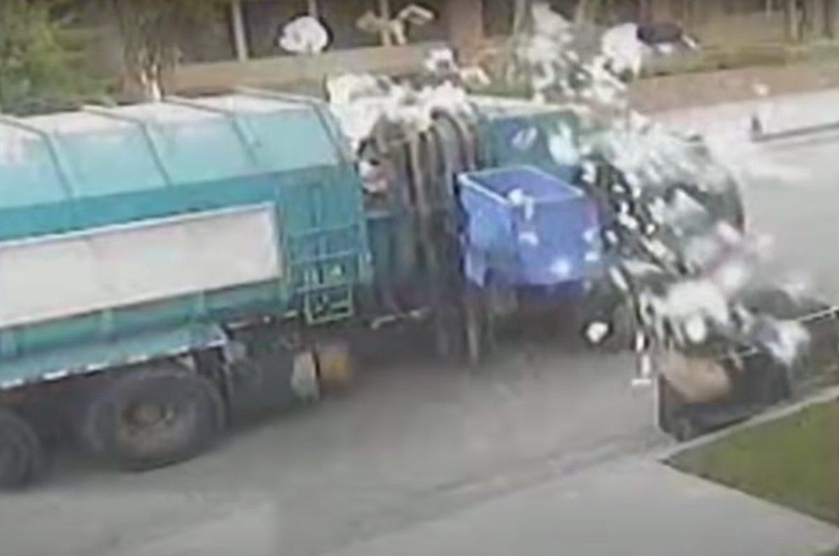 garbage truck america's funniest home videos