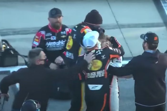 NASCAR Drivers Noah Gragson and Daniel Hemric Throw Punches in Post-Race Fight