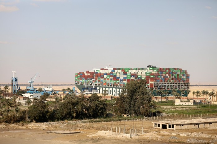 Massive Container Ship That Blocked Suez Canal Is Freed