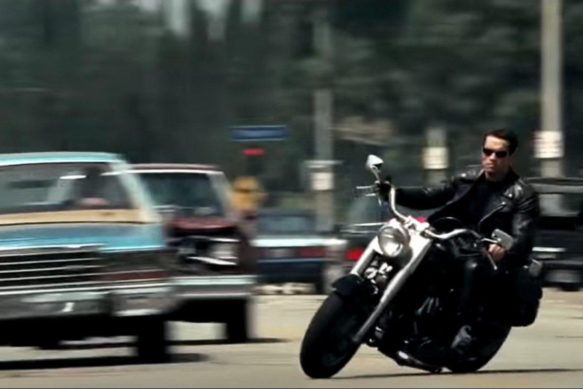 terminator 2 motorcycle