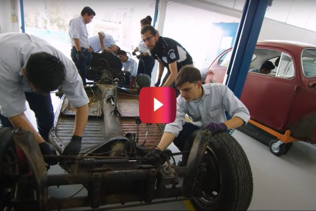 Woman's '67 VW Beetle Gets Beautifully Restored by Folks at Volkswagen