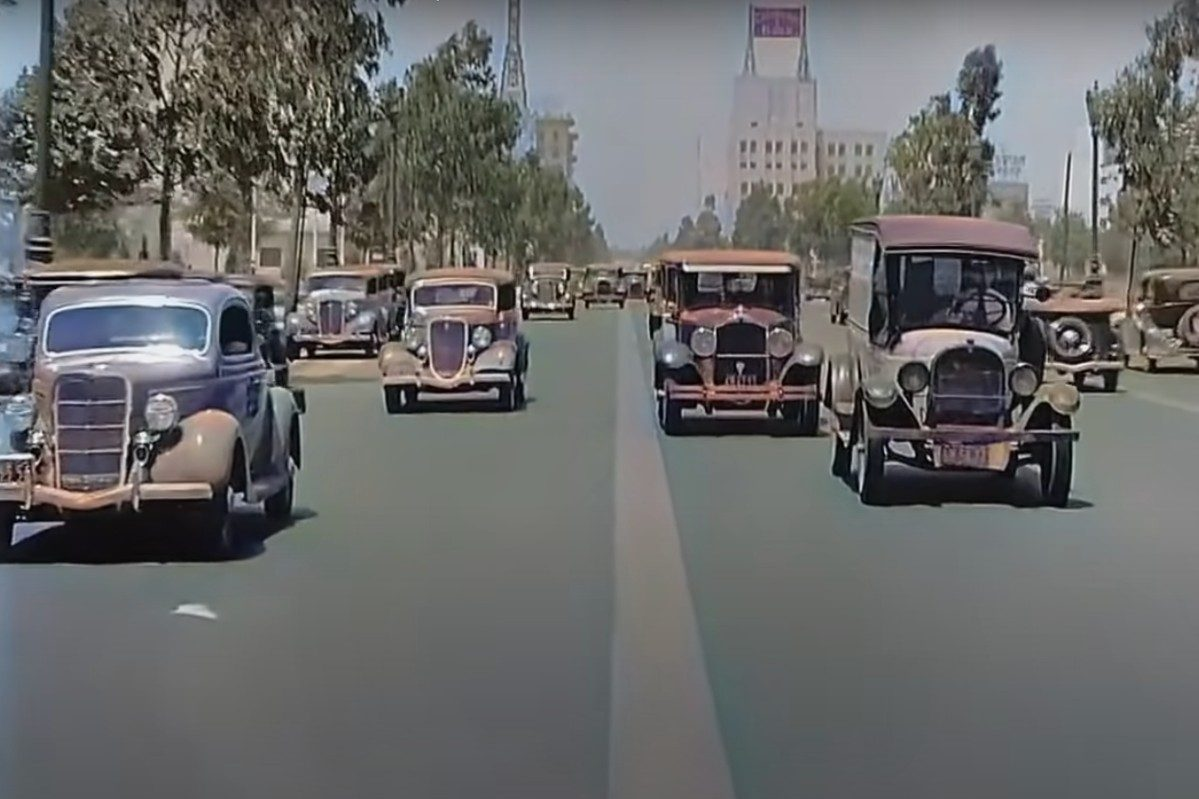 California Traffic in 1935