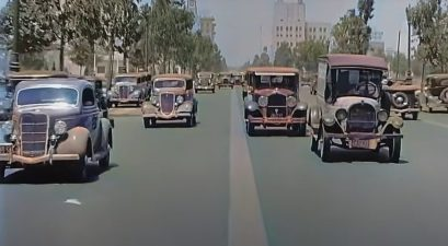 California Traffic in 1935
