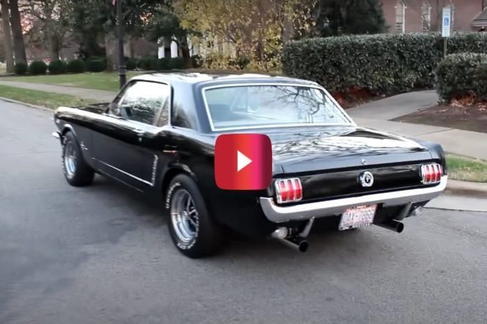 Video Shows Incredible Exhaust Sound of '65 Mustang's V8 Engine