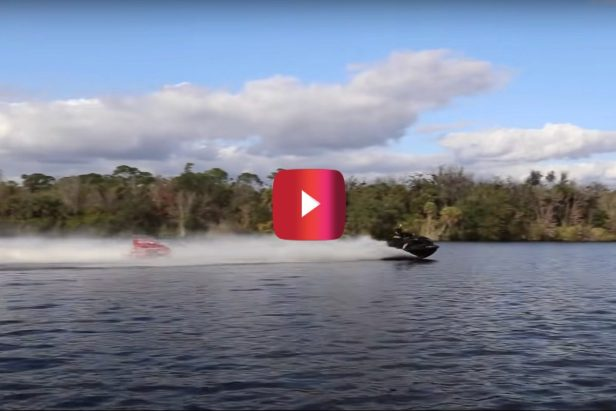 Tubing Behind This 500-HP Jet Ski Looks Like a Total Blast