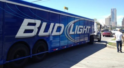 bud light truck