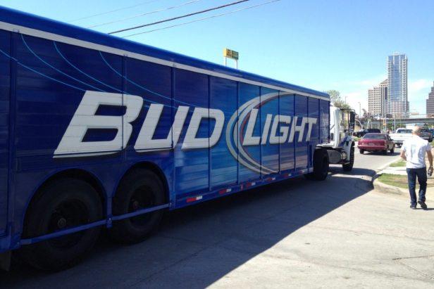 40,000 Pounds of Bud Light Spills Onto Highway After Truck Crashes
