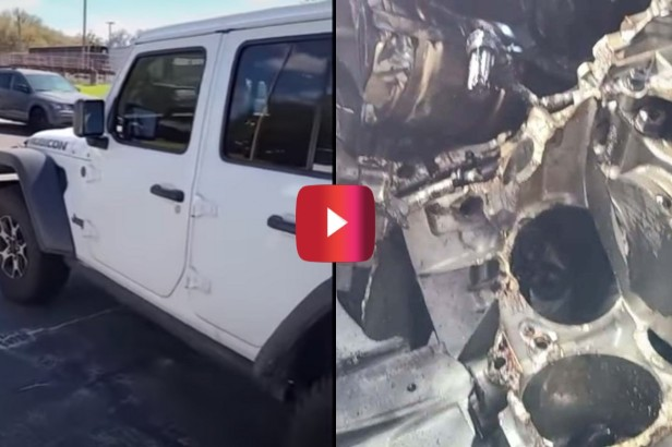 RV Driver Destroys Jeep Wrangler by Flat-Towing in 4-Low