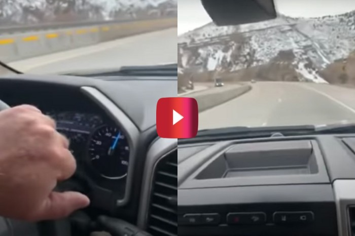 "Ford F-350 Driver Rides Out Terrifying ""Death Wobble"""