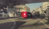 highway robbery captured on teslacam