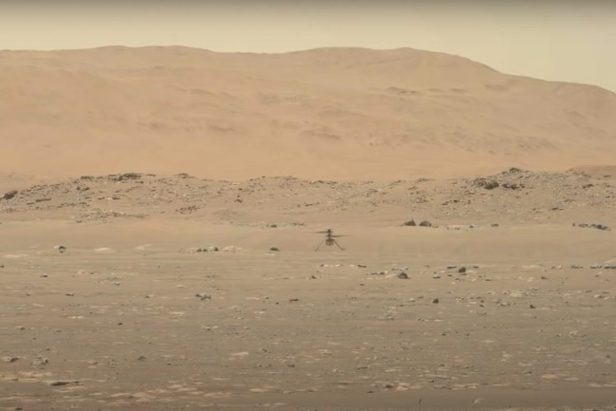 NASA's Ingenuity Helicopter Makes History With Mars Flight