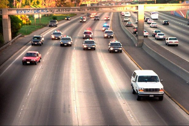 O.J. Simpson's White Bronco Chase Captivated the Country Over 25 Years Ago