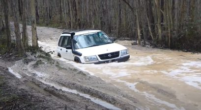 subaru forester off-road video