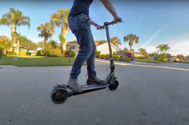 The WideWheel Pro Is One of the Best Electric Scooters on the Market