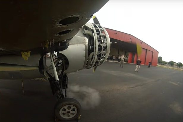 WWII-Era Wildcat Plane Starts With 4-Gauge Shotgun Shell