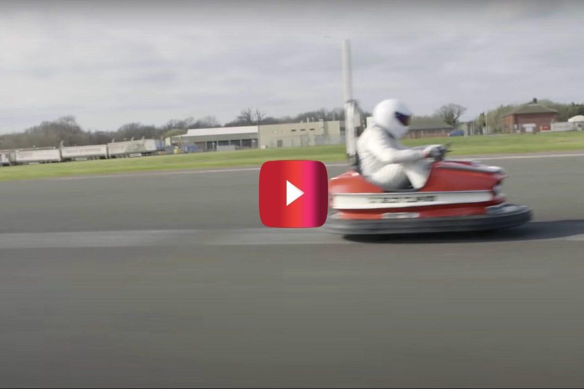 world's fastest bumper car