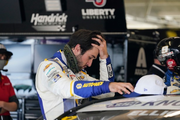 Chase Elliott's Spotter Gets Suspended for Alleged Assault on Pregnant Woman