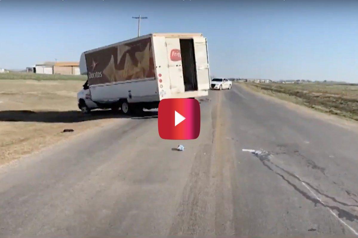 guy steals doritos truck