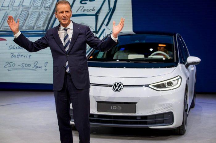 Volkswagen Chairman Herbert Diess Could Have Run Tesla
