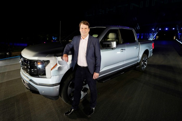 Ford's CEO Is Chris Farley's Cousin, But He Has Some Impressive Credentials of His Own