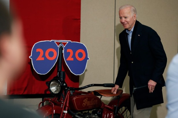 What's the Deal With Joe Biden and Motorcycles?