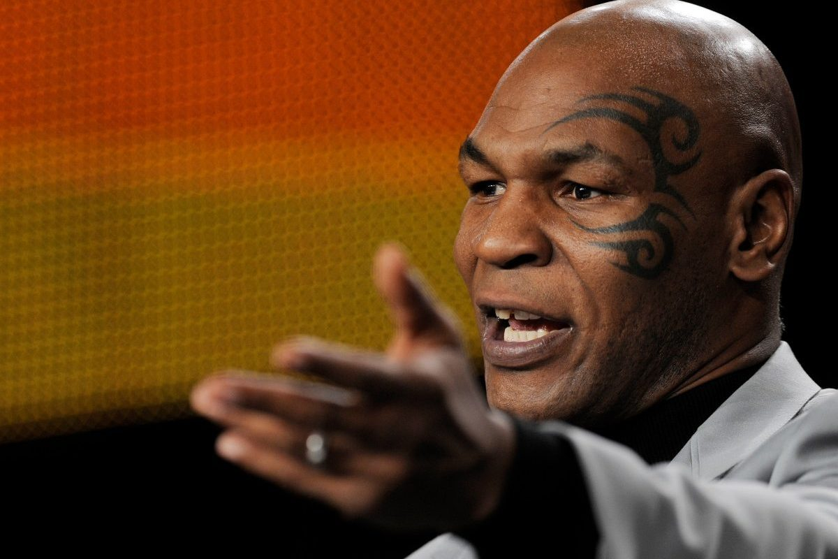 Mike Tyson Actually Used to Drive in the Carpool Lane With His Tiger