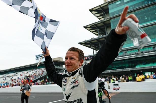 A.J. Allmendinger's Drug Suspension in 2012 Was a Small Speed Bump in the NASCAR Driver's Career