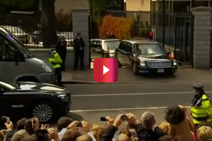 That Time Barack Obama's Limo Got Stuck in Dublin…Or Did It?