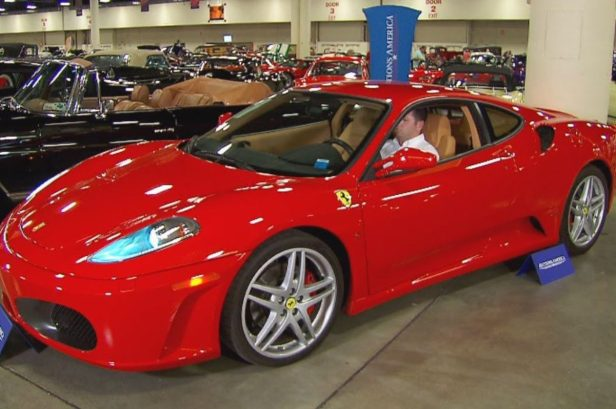 """Donald Trump's Ferrari F430 Benefitted From the Well-Known """"Trump Bump"""" at Auction"""