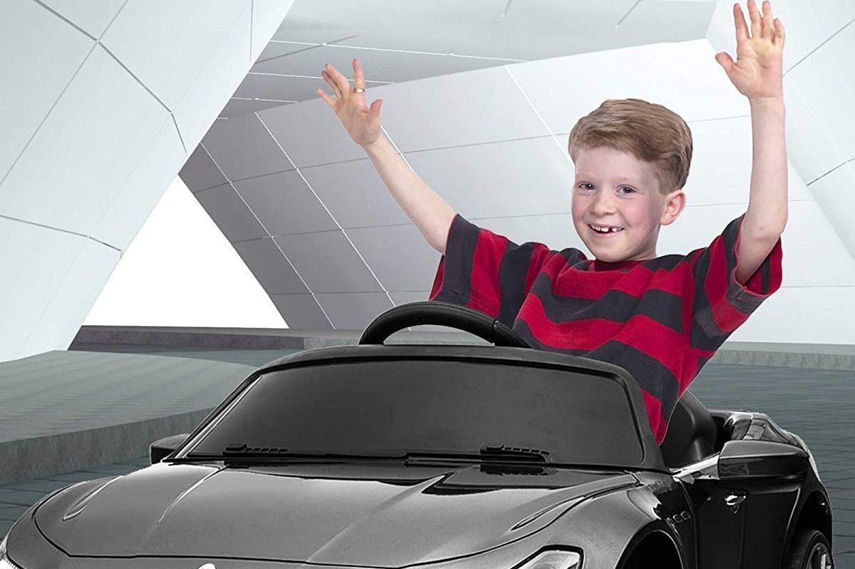 electric ride-on maserati