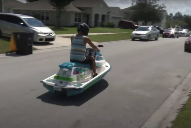Man Creates a Jet Ski That Can Drive on Land, And Of Course He's From Florida