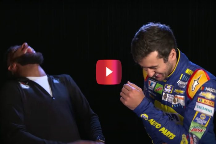 NASCAR Drivers Go Head-to-Head in Bad Joke Telling Contest