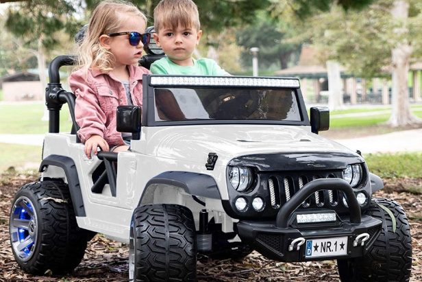 7 Awesome Rideable Jeeps for Kids That You Can Buy on Amazon