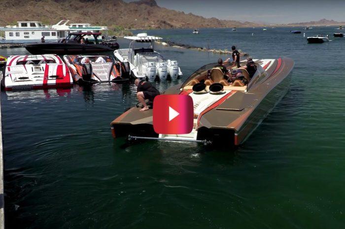 3,000-HP Turbine-Powered Boat Is a High-Octane Head Turner