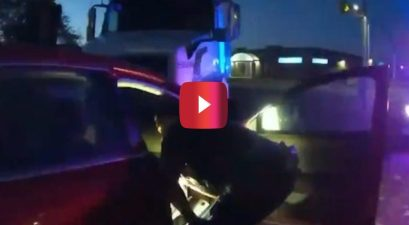 bodycam footage 9 year old crash