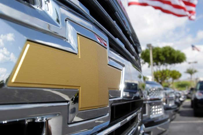 General Motors Is Recalling 400K Pickup Trucks for Exploding Side Air Bags