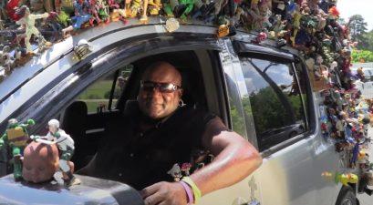 georgia man with 1000 dolls on car
