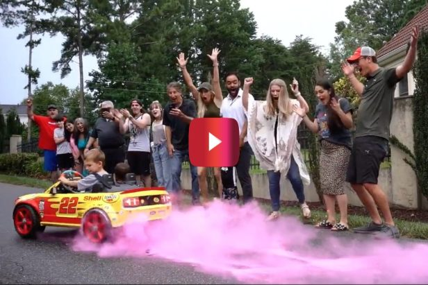 Joey and Brittany Logano Reveal They're Expecting a 3rd Child in Epic Gender Reveal Video