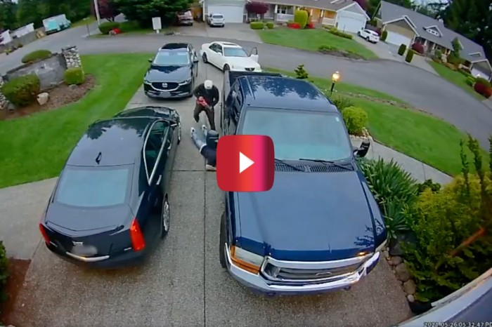 Thieves With Saws Steal a Truck's Catalytic Converter in Less Than 30 Seconds