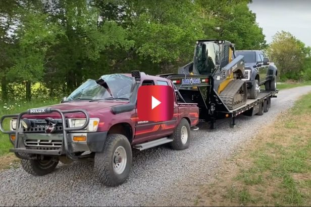 Toyota Hilux Gets Purposely Wrecked and Tows 30,000 Pounds Uphill for the Ultimate Durability Test