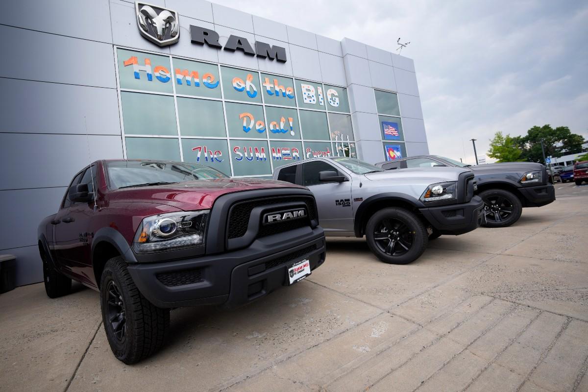 2021 Ram pickup trucks