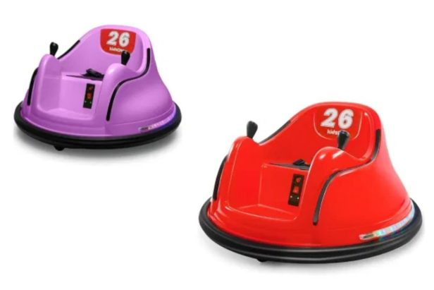 This Indoor Bumper Car Is an Awesome Toy for the Kids