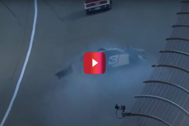 """Playoff Hopeful Austin Dillon Suffers Massive Crash at Michigan: """"I Don't Know Why It Happened"""""""