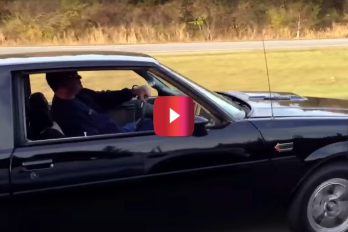 Twin-Turbo Buick Grand National Rockets Down Highway for Incredible Flyby