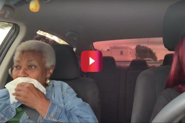 Driver Surprises Grandma With This Hilarious Fart Spray Prank