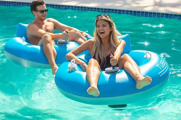 This Motorized Pool Tube Can Be Yours for Only $149