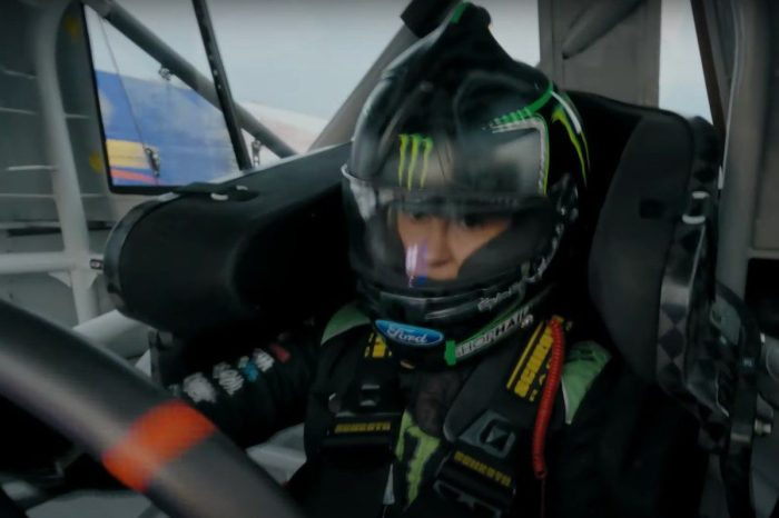 Hailie Deegan Test Drives New Ford NASCAR F-150 Truck for 2022